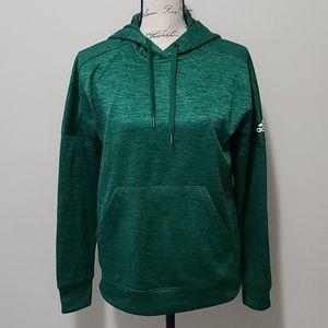 Adidas Climawarm Hoodie Sweatshirt Emerald Green M